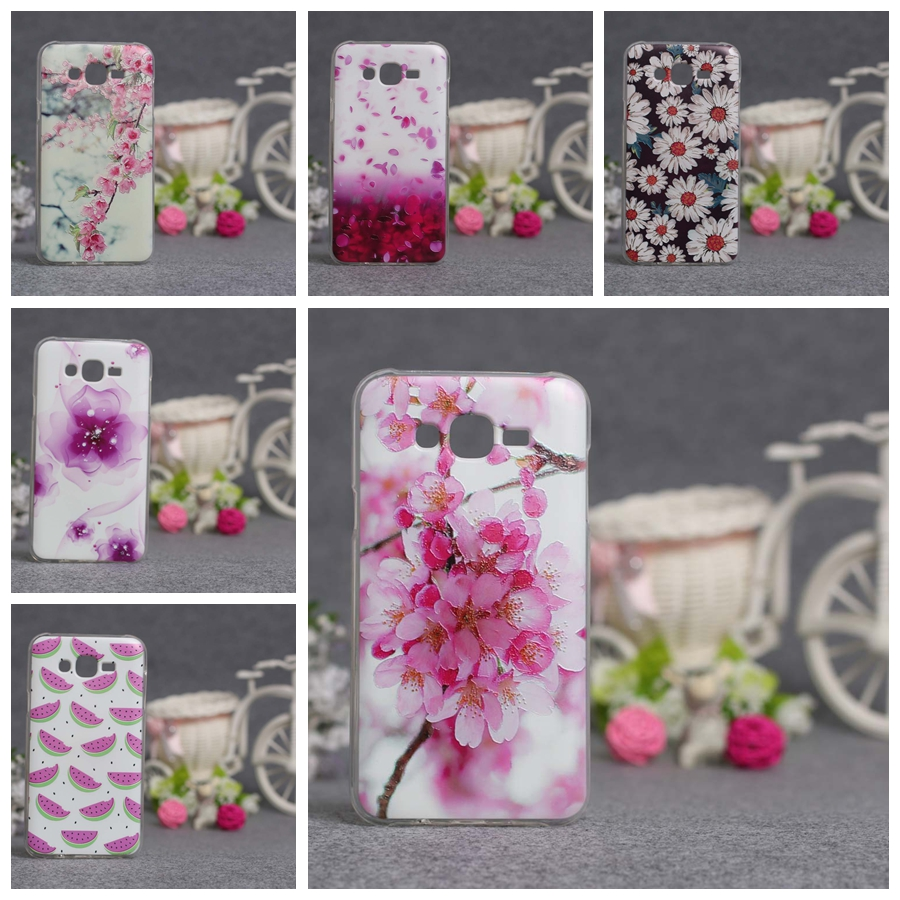 Samsung J7 Case 3D Relief Painting Soft Silicon Back Cover Galaxy J700 SM-J700F 2015 Phone TPU Covers  -  Jackie Union Trading Co.,Ltd store