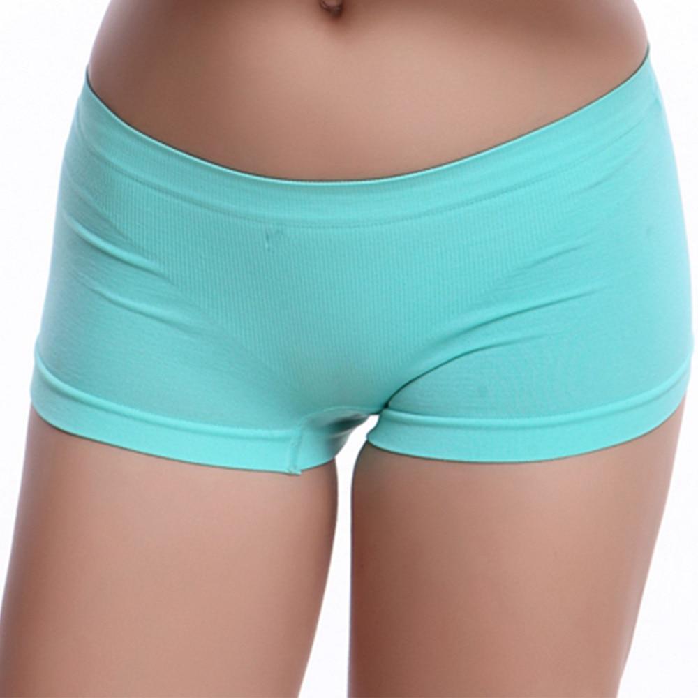 Ny Sexy Kvinder Ladies Casual Komfortabel Problemfri Boxer-2795