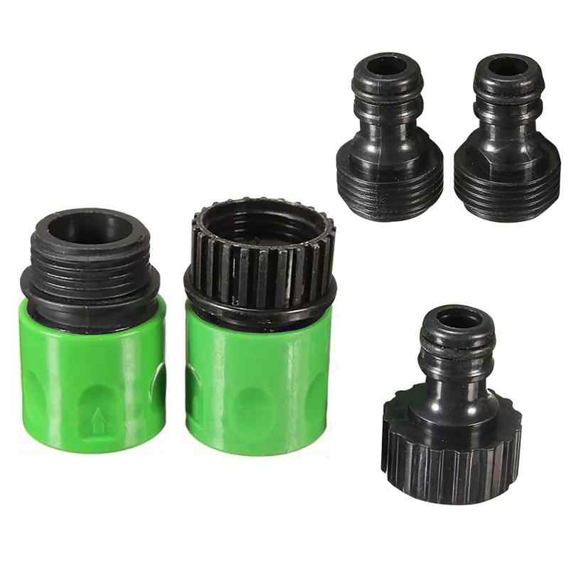 Huis Tuin 3/4 inch Slang ABS Plastic Quick Connect Tap Adapter Connector Adapter