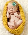 Fashion Hot Sale Baby Bowl Cocoon Photography Props Handmade Newborn Knitted Pod Sleeping Bag Crochet Toddler Costume Outfit