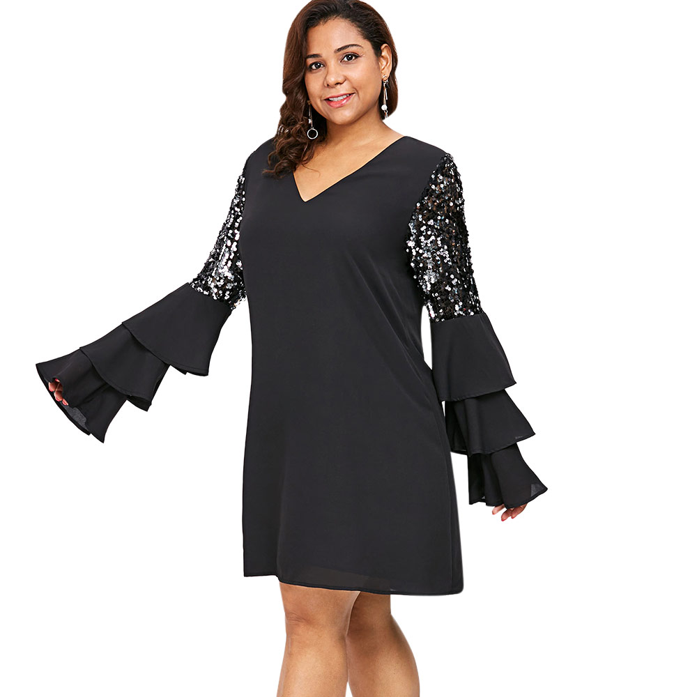 Detail Feedback Questions about AZULINA Plus Size Tiered Flare ... 3cdba7505059