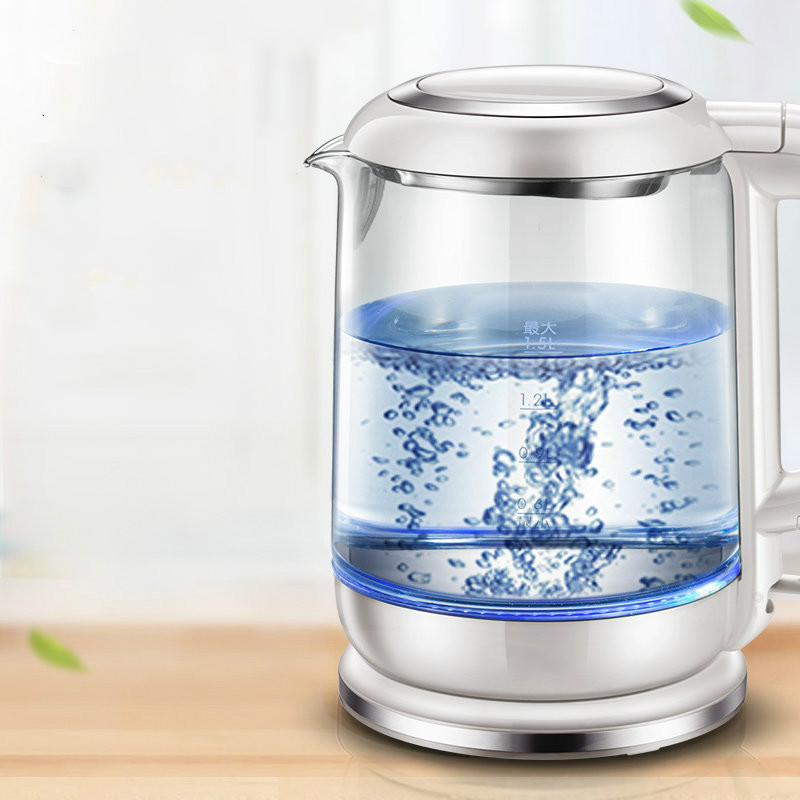 Electric kettle automatic power blackouts and thickened glass hot kettles/electricElectric kettle automatic power blackouts and thickened glass hot kettles/electric