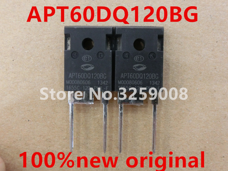 APT60DQ120BG 100% new imported original 4PCS/10PCS new original filter f150 02 bg