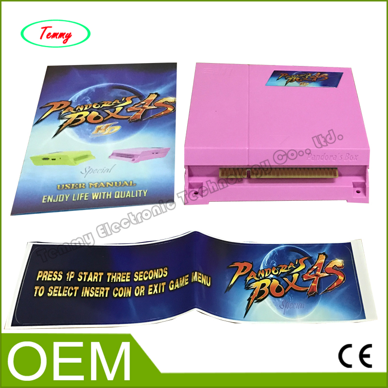 ФОТО Jamma multi game PCB Pandora box 4S 680 in 1 multi game board,HD HDMI output game for arcade game machine