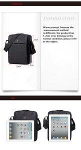 Image 4 - SWICKYผู้ชายแฟชั่นมัลติฟังก์ชั่ธุรกิจท่องเที่ยวกันน้ำ 10.1 นิ้วiPadข้ามแพคเกจกระเป๋าเดียว