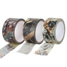 10m Waterproof Dead Leaves Camo Cloth tape Gun Hunting Outdoor Camping Camouflage Stealth Tape Wrap for Hunting Gun Accessories(China)