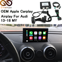 Sinairyu Apple CarPlay interface for Audi A3 MMI factory Screen upgrade with iOS12 AirPlay screen Mirroring