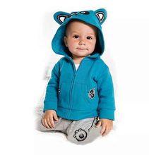 Children sweater leisure suit cartoon bear children sweat suits autumn baby boy sweatshirts baby shirt pants sets