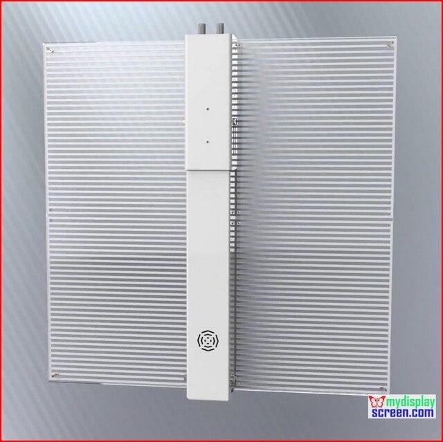 Функция видео-Дисплей высокой прозрачности светодиодный дисплей видео стены 500 мм * 500 мм размер, 7.81 ММ