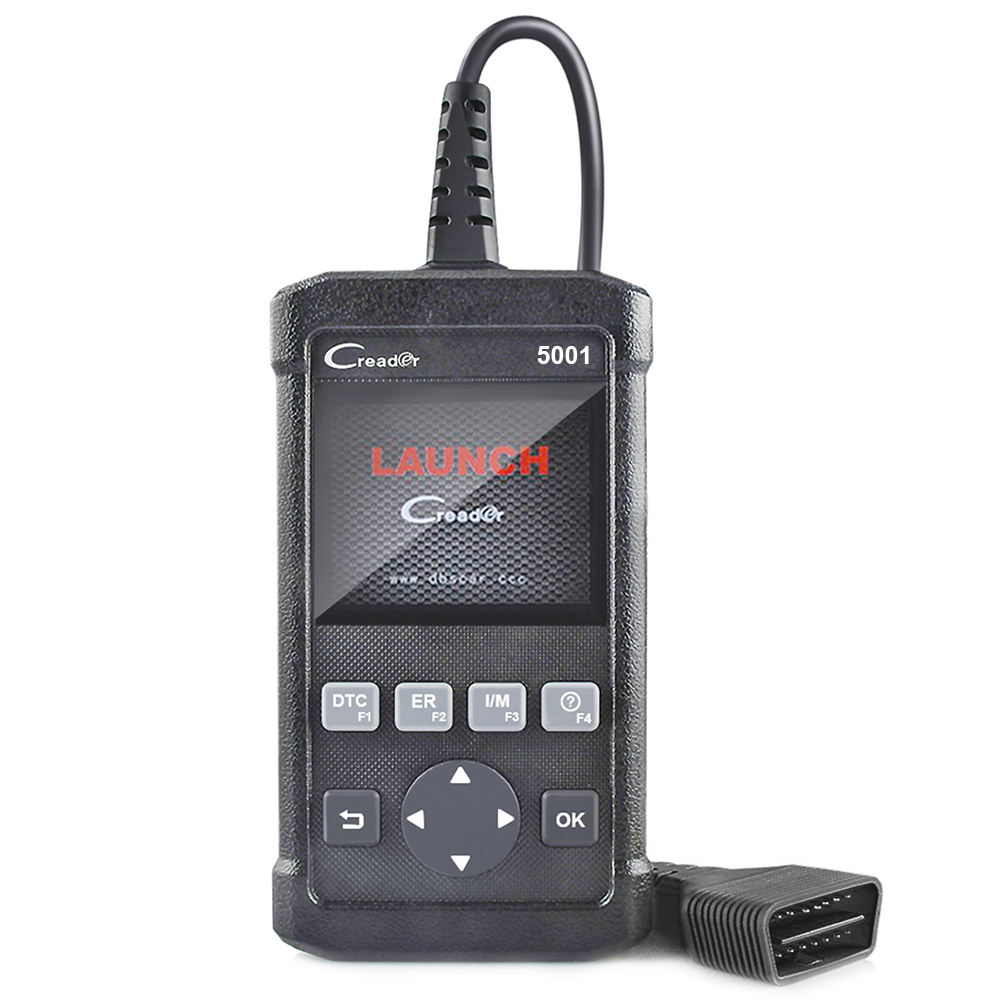 Best OBD2 Scanner Launch Creader CR5001 Full OBD2 Function Auto Diagnostic Scanner Better Than AL519 With Battery Tester As Gift
