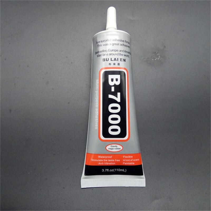 B7000 110 ML multi-usages adhésif bijoux strass téléphone écran verre Super liquide colle B-7000 Gel à ongles livraison gratuite russie
