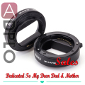 Meike Auto Focus AF Confirm Macro Extension Tube Ring 10-16mm Suit For Sony NEX E Mount Camera A7 A7R NEX-3N NEX-6 NEX-5R NEX-F3