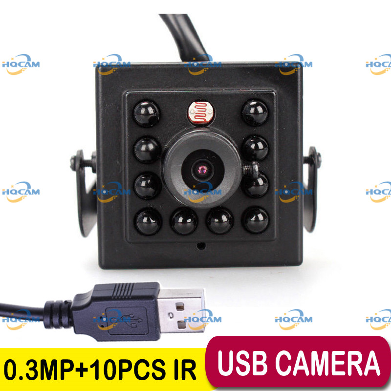 ФОТО 0.3 Megapixels USB Camera 940nm Night vision MINI USB Camera mini camera ATM Bank Camera 3.6mm Lens Support Linux  XP System