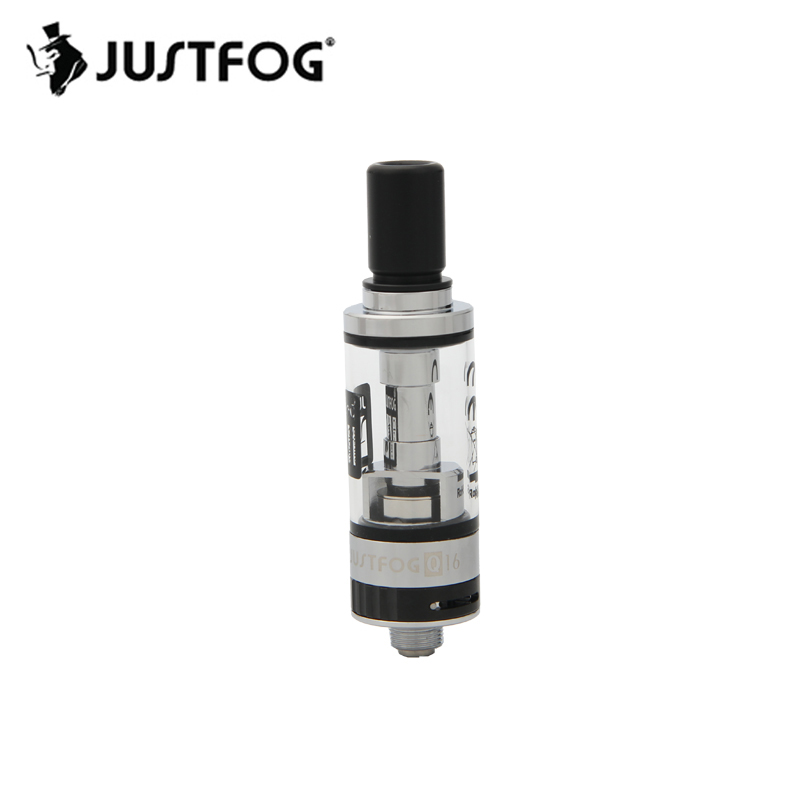Original JUSTFOG Q16 Clearomizer Tank 1,9 ml Mit Organischen Baumwolle/Unteren Spule 1.6ohm Für E zigaretten Q16 J- einfach 9 Vape Batterie
