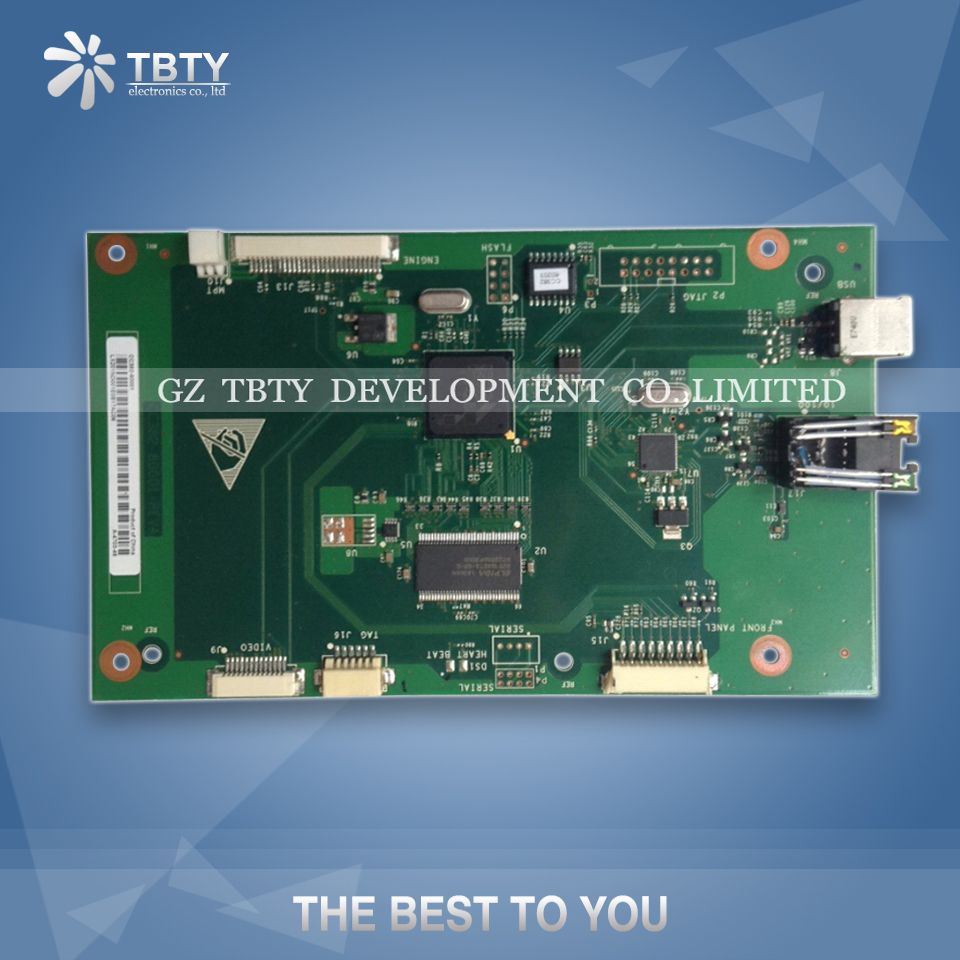 все цены на 100% Guarantee Test Main Formatter Board For HP P2014N P 2014N HP2014N HPP2014N CC382-60001 Mainboard On Sale онлайн