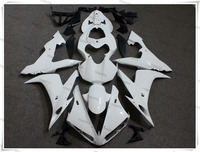Motorcycle Unpainted White Fairings BodyWork Kit For YAMAHA YZF R1 YZF R1 2002 2003 4 Gift