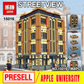 New Lepin 15016 Genuine MOC Creative Creators Series The Apple University Set Building Blocks Bricks Education Toys