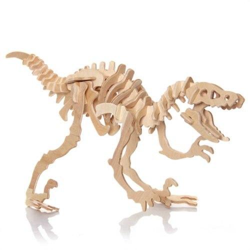 Маха 3D Puzzle Динозавров Cube игр образования игрушки подарки для детей