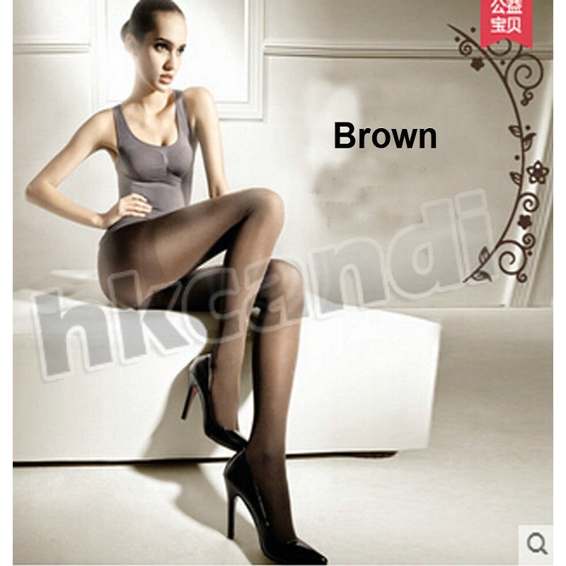 Womens Tight Thin Super Velvety Pantyhose Stockings Sexy Comfortable brown Velvet Pantyhose office women BA004