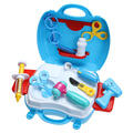 21Pcs/Set Simulated Medical Kits Kids Cosplay Doctor Nurse Role Play Toy Indoor Pretend Play Toy Fun Playhouse Game Toy Set