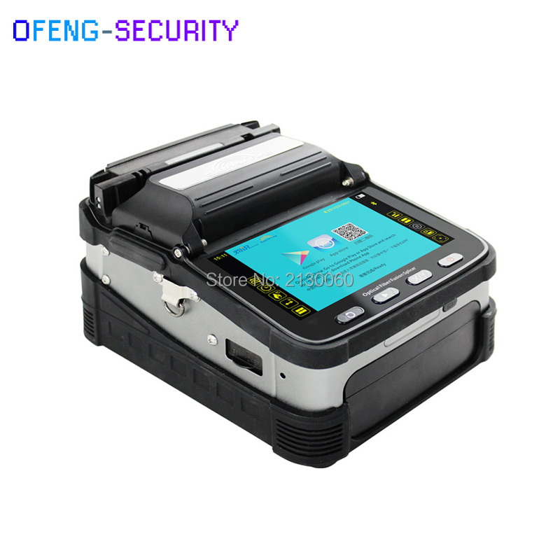 AI-7 SM&MM Automatic FTTH Optical Fiber Fusion Splicer Fiber Optic Splicing Machine Optical Fiber AI-7 Fusion Splicer