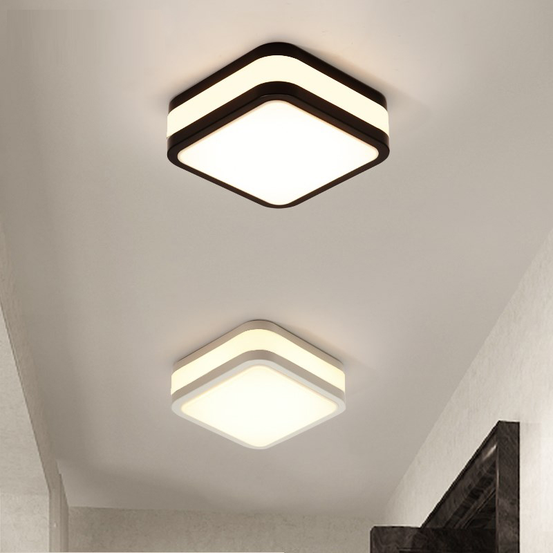 Square led ceiling lamp modern aisle lights corridor lights porch balcony entrance hall dining room study room LED lamps