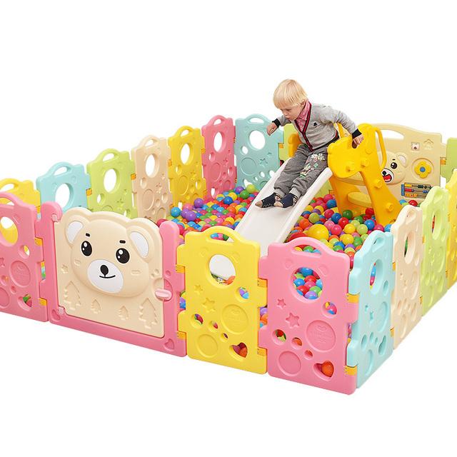 Calidad bebé cuna valla Valla Valla niño barandilla de seguridad del bebé creepiness niño casa juego juguete parque infantil de colores chica chico