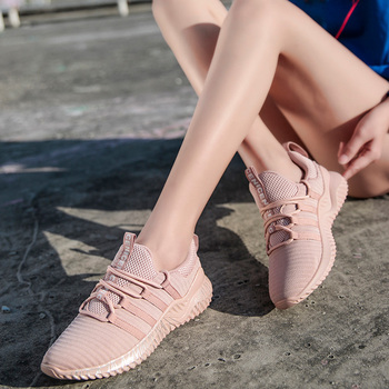 Sport Sneakers for Women Scarpe Donna Fly Knitting Breathable Shoes Woman High Quality Footwear Female Shoes Flats Dropshipping 1