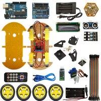 Bluetooth Smart Car Robot Smart Car Intelligent Car DIY Smart Car For Arduino Robot Education Programming