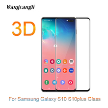 3D HD Protective Tempered glass for Samsung Galaxy S10 S10plus screen protector For smasung Clear protection Film