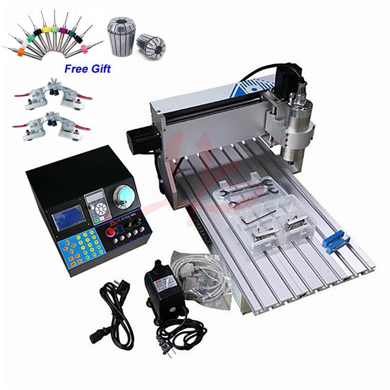 3 axes CNC routeur 6040 2.2KW 1.5KW broche CNC métal coupe Machine de gravure