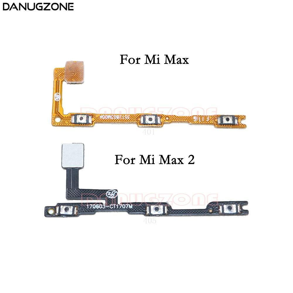 Power Button Switch Volume Button Mute On / Off Flex Cable For Xiaomi Mi Max 2 Max2
