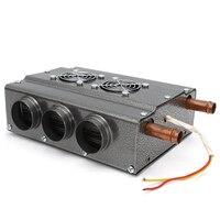 Hot 12 V Compact Auto Heater Universele Dubbele Side Koper Ijzer 6 Poorten Auto Heater Met Snelheid Schakelaar Auto Elektrische accessoires