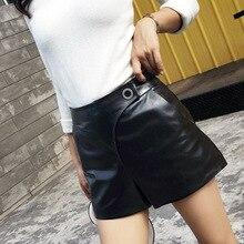 2018 New Fashion Genuine Sheep Leather Shorts G11