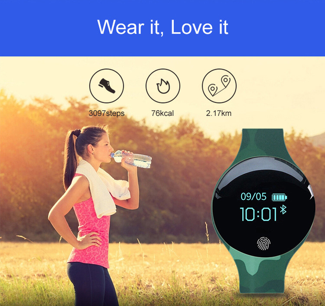 FUYIJIA Smart Watch Bluetooth Men Watch Touch Screen Woman Watch Top Brand Sport Round Screen Couple Smart Bracelet waterproof