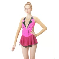 BHZW Custom Figure Skating Dress Graceful New Brand Figure Skating Dress For Competition