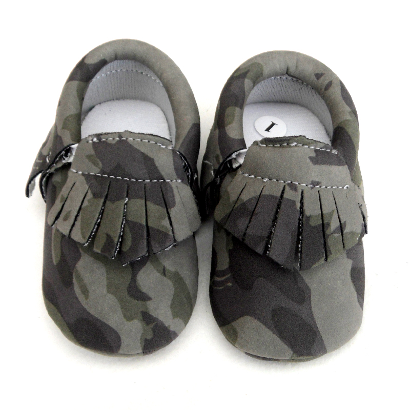 d307517ad Detail Feedback Questions about Infant Girls Boys green Camouflage Baby  Shoes Toddler Tassel baby moccasins Soft Slippers Shoes 0 12M baby leather  shoes on ...
