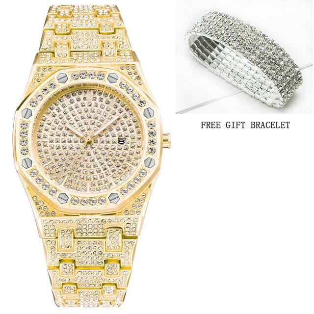 07648faa49a3 New STRYVE Brand Fashion Watch Women Luxury Crystal And Alloy Bracelet  Analog Wristwatch Relogio Feminino Montre