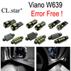 23pc X Nice Canbus Error Free LED Interior Dome Light Lamp Kit Package For Mercedes Benz