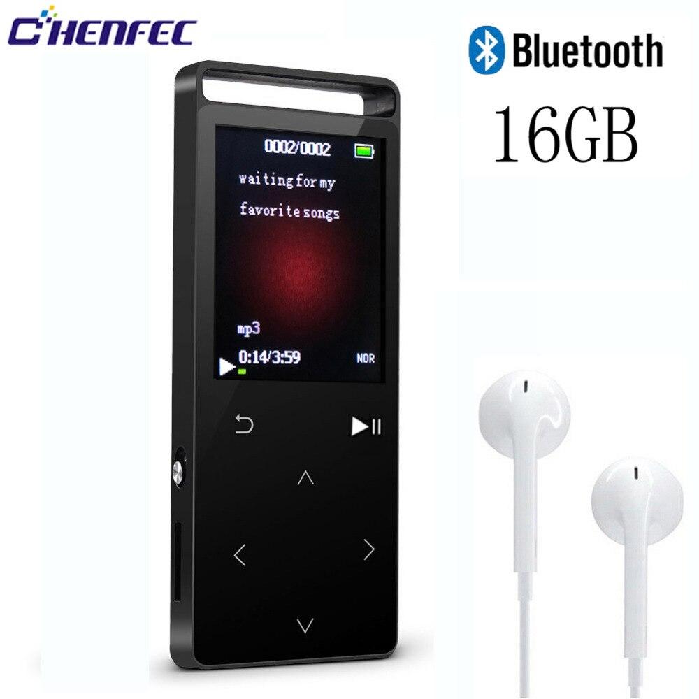 Bescheiden Metall Bluetooth Mp3 Player 16g Touch 1,8 Zoll Bildschirm Fm Radio Video Player Ebook Mp3 Musik-player Unterstützung Up Zu 64 Gb Sd Karte C01 Tragbares Audio & Video Unterhaltungselektronik