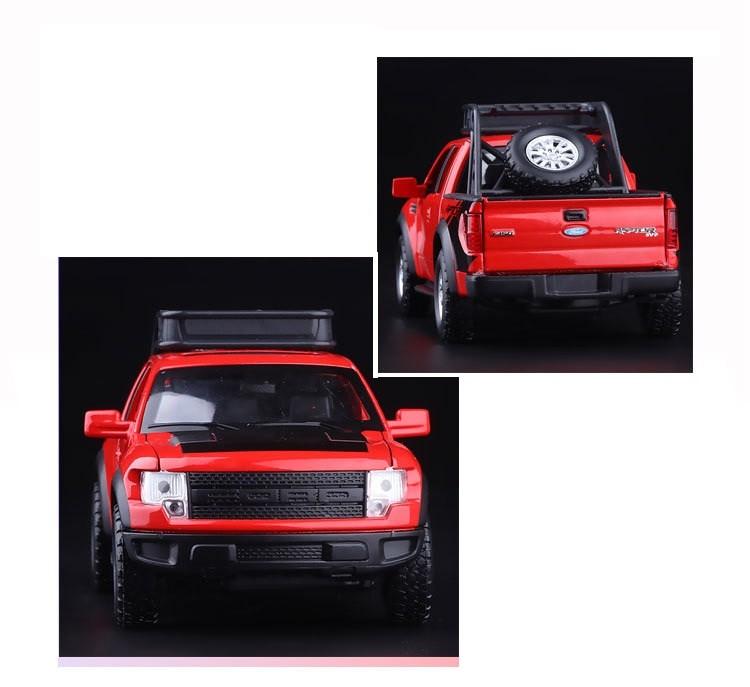 Realistlik punane, sinine või valge auto
