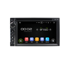 JSTMAX 6.2 inch Universal 2 din Android 5.1.1 Quad-Core Car DVD player car gps  with Touch Screen 1080P Video Wifi