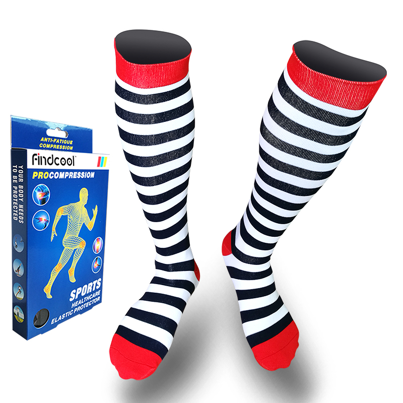 c7e4ec304 Detail Feedback Questions about Yisheng Medium Graguated Compression Knee  High Socks for Men Women Breathable Travel Activities Fit for Nurses Shin  Splints ...