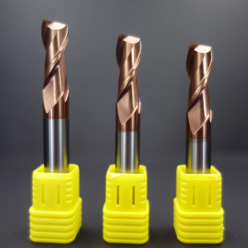 Beable tools 10*10*25*75 HRC55 degrees 2 Flute 10mm end mill metal cutting tool high speed end mills milling cutters for sale