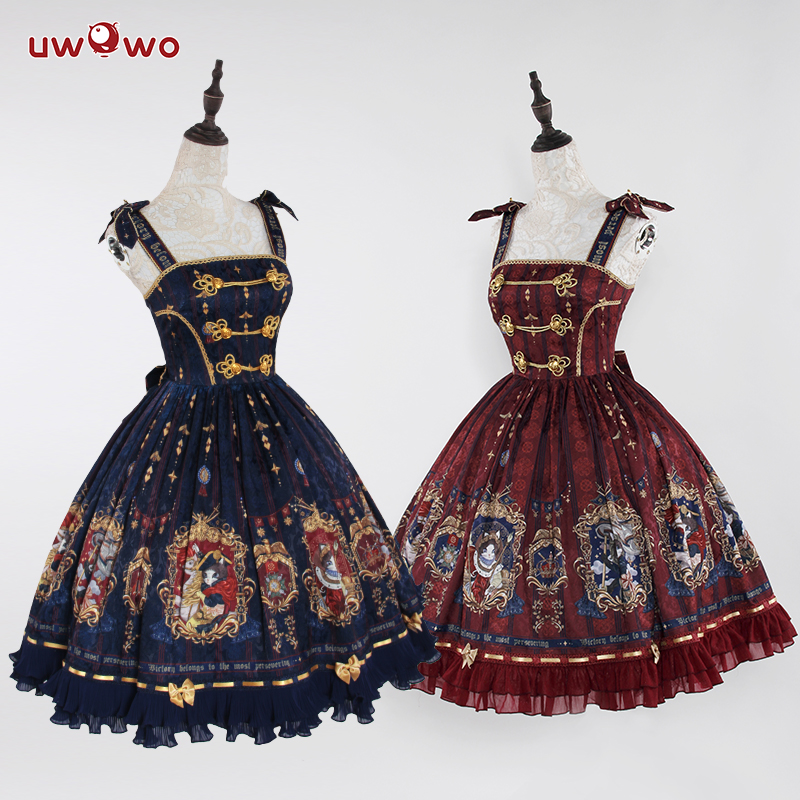 UWOWO conception originale couronnement de 18 Brumaire JSK robe femmes Lolita robe Cosplay Costume mignon fille Cosplay Costume