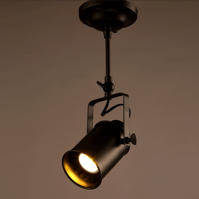 New arrival loft bar wall probe industrial pendant light black e27 new arrival loft bar wall probe industrial pendant light black e27 edison lights spotlights clothes store mozeypictures Choice Image
