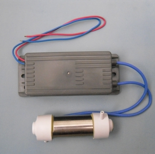 Ozone generator, 220V, 1g/2g/3g ozonizer, power supply + ozone tube, ozone tube generator fittings
