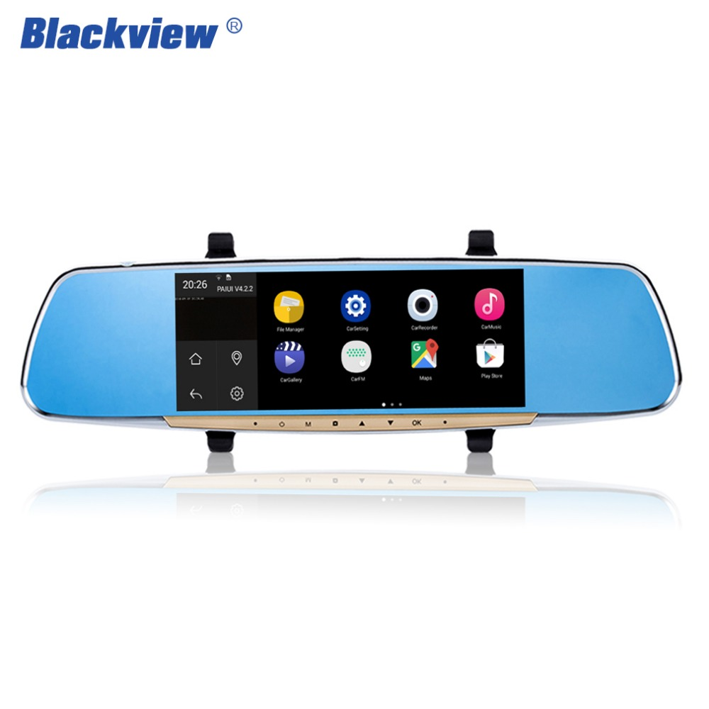 Hot Inch Touch Screen Car Rearview Mirror Monitor With GPS Wifi DVR