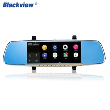 Hot 7 Inch Touch Screen Car Rearview Mirror Monitor With GPS Wifi DVR FM Transmitter For Android 4.4 Quad Core 1G DDR3 16G Flash