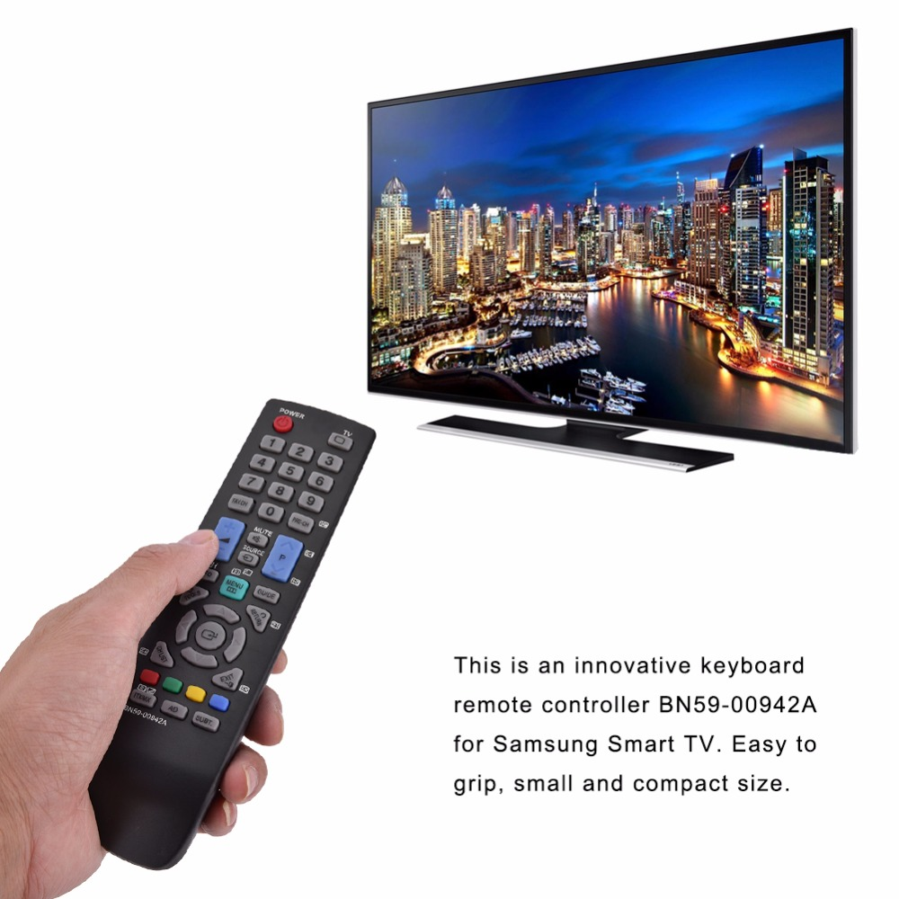 Replacement Smart TV Remote Control Television Controller for Samsung BN59-00942A